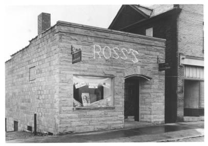 Ross's Luncheonette Swissvale PA 1949