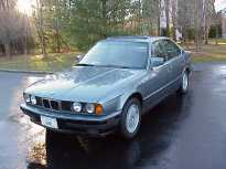 BMW Left Front View